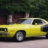 1971 Plymouth Barracuda 7.0-liter V8 1920×1200 HD