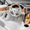 2012 Porsche Panamera Turbo S Stingray GTR Gold Interior