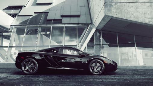 2013 McLaren MP4-12C on Forged Concave Wheels 1920×1080 HD