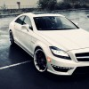 Mercedes-Benz CLS 63 AMG on ADV1 5.0 wheels 1920×1080 HD