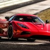 Koenigsegg Agera R in Nurburgring racing track 1920×1080 HD