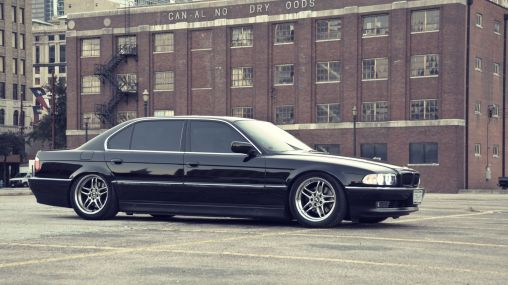 1998 BMW 740i E38 4.4-liter V8 282 hp 1920×1080 HD