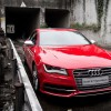 Red Audi S7 Sportback 4.0-liter V8 550 Nm beast 1920×1080 HD