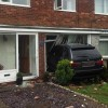 BMW X5 crashed into house in Ashington caused serious damage