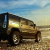 Shinny Hummer H2 SUV 393 hp off-road vehicle 1920×1080 HD