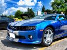 2010 Chevrolet Camaro 2LT RS Aqua Blue Metallic For Sale
