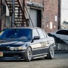 7 Series BMW 750iL E38 Sedan Stance Big Wheels 1920×1080 HD