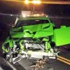 2015 Dodge Challenger SRT Hellcat crashed badly in Colorado