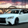 Tuned white 2013 Lexus GS F Sport by Five Axis 1920×1080 HD