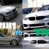 BMW E36 & E46 transformation into 4 series F32 or F82 M4
