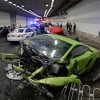 Brutal Lamborghini and Ferrari crash in tunnel – Cars Totaled