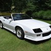 White 1991 Chevrolet Camaro RS convertible For Sale