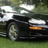 Black on black 2002 Chevrolet Camaro Z28 convertible For Sale