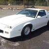 White 3rd gen 1984 Chevrolet Camaro Z28 street legal For Sale