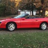Red 4th gen 1995 Chevrolet Camaro Z28 Convertible For Sale