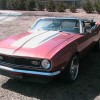 1st gen 1968 convertible Chevrolet Camaro 4spd For Sale