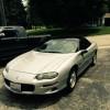 4th gen 1998 Z28 Chevrolet Camaro w/ LS1 engine For Sale