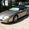 4th gen Pewter 2001 Chevrolet Camaro convertible [SOLD]