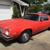 2nd gen red 1974 Chevrolet Camaro 3spd manual For Sale