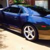 Blue Ray Metallic 2013 Chevrolet Camaro 2SS V8 [SOLD]