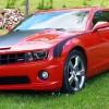 Inferno Orange 2010 Chevrolet Camaro V8 6spd For Sale