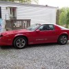 3rd gen red 1986 Chevrolet Camaro IROC-Z automatic For Sale