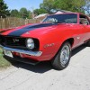 1st gen classic red 1969 Chevrolet Camaro V8 For Sale