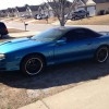 4th gen blue 1999 Chevrolet Camaro SS LS1 6spd [SOLD]