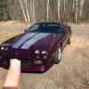 Purple 1992 Chevrolet Camaro RS 25th Anniversary [SOLD]