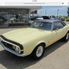 1st gen Butternut Yellow 1967 Chevrolet Camaro SS For Sale