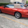 Sunset Orange Met 2002 Chevrolet Camaro SS convertible For Sale