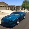 3rd generation blue 1991 Chevrolet Camaro V8 For Sale