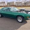 2nd gen green 1972 RS Split Bumper Chevrolet Camaro For Sale