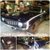 Classic 1969 Chevrolet Camaro project car convertible For Sale