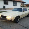 2nd gen 1977 Chevrolet Camaro Inline 6 automatic For Sale