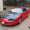 4th generation red 1997 Chevrolet Camaro V6 For Sale