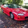 4th gen red 2002 Chevrolet Camaro 35th anniversary For Sale