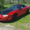 4th generation red 1998 Chevrolet Camaro Z28 LS1 For Sale