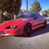 4th gen red 1994 Chevrolet Camaro Z28 6spd manual For Sale