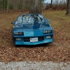 3rd gen blue 1991 Chevrolet Camaro RS automatic For Sale