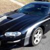 4th gen black 1999 Chevrolet Camaro Z28 SS V8 For Sale