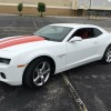 White 2010 Chevrolet Camaro RS w/ rebuilt title For Sale