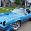 2nd gen blue 1979 Chevrolet Camaro Z28 manual For Sale