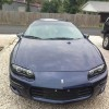 4th generation Metallic Blue 1999 Chevrolet Camaro For Sale