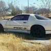 3rd generation white 1989 Chevrolet Camaro Iroc-Z For Sale