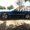 3rd gen blue 1991 Chevrolet Camaro RS convertible For Sale