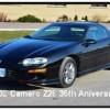 2002 Chevrolet Camaro Z28 automatic 35th anniversary For Sale