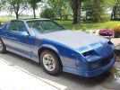 3rd gen blue 1990 Chevrolet Camaro RS automatic For Sale