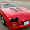 3rd gen red 1990 Chevrolet Camaro convertible For Sale