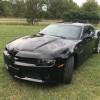 5th gen black 2015 Chevrolet Camaro LT V6 automatic For Sale
